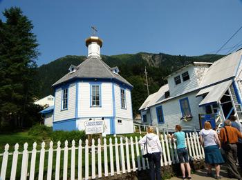 Фото 21. г. Джуно. Русская церковь святого Николая