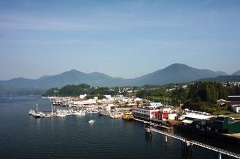Фото 42. Канадский порт Принц Руперт