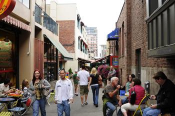 Фото 49. г. Сиэтл. Старая часть города