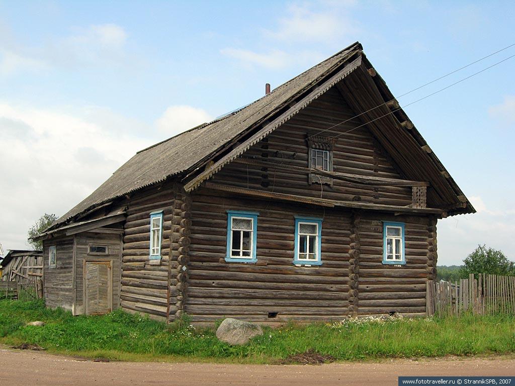 Забелино. Старый дом. Большой. Не думаю, что купеческий, но крестьянин был зажиточный