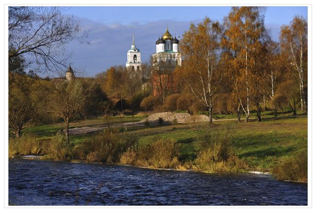 псков осенью фото